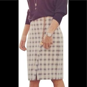CAbi-Grey-Black-Checker-Valentina-Skirt-8